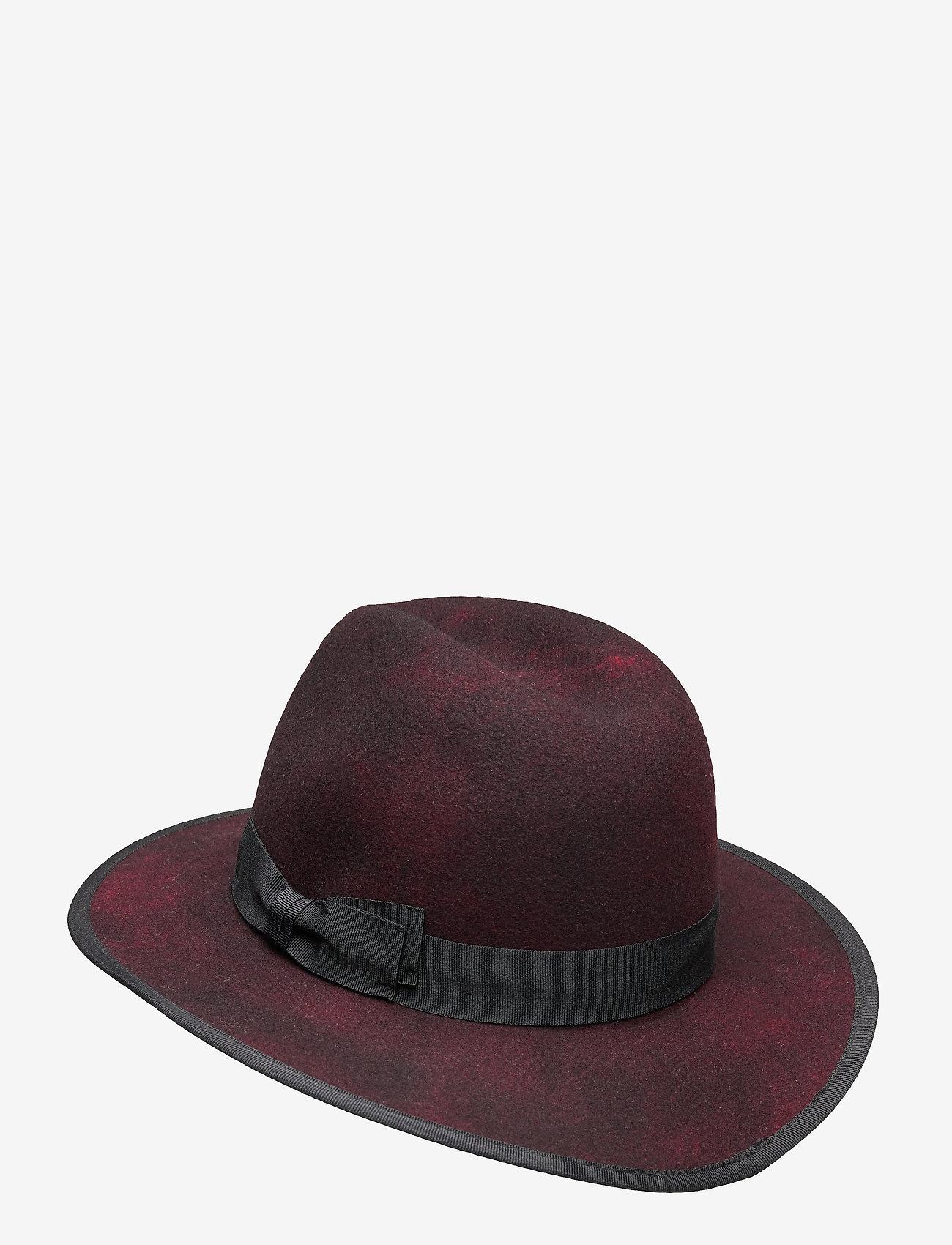 Wigéns - Fedora hat - chapeaux - red - 1