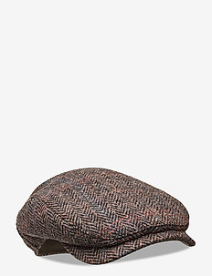 Ivy Contemporary Cap - flat caps - dark brown