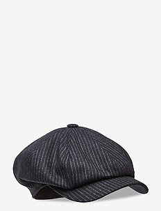 Newsboy Retro Cap - flat caps - black