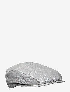 Ivy Slim Cap - flat caps - light grey