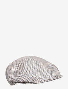 Ivy Slim Cap - flat caps - light brown