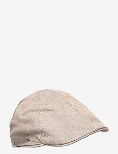 Pub Cap - flat caps - dark camel