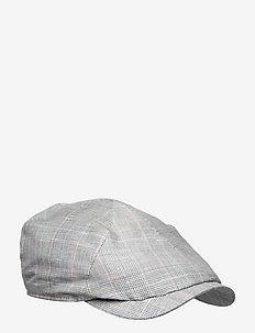 Newsboy Slim Cap - flat caps - light grey