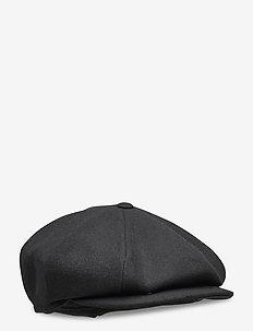 Newsboy Classic Cap - flat caps - black
