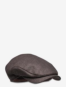 Ivy classic cap - flat caps - dk brown