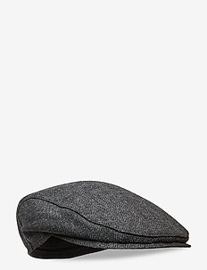 Ivy Slim Cap - flat caps - black