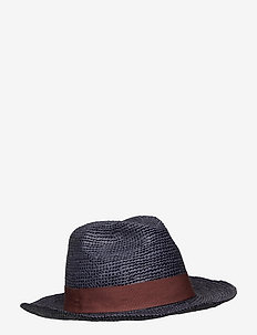 Panama Hat - chapeaux - navy
