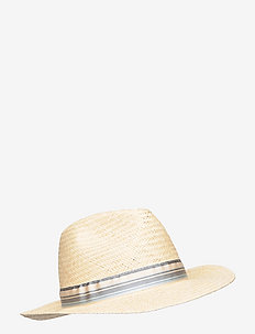 Straw Hat - chapeaux - natural