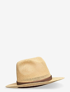 Fedora Country Hat - hats - natural