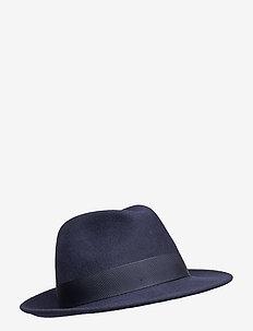 Fedora Hat - kapelusze - navy