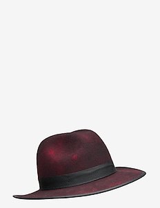 Fedora hat - chapeaux - red