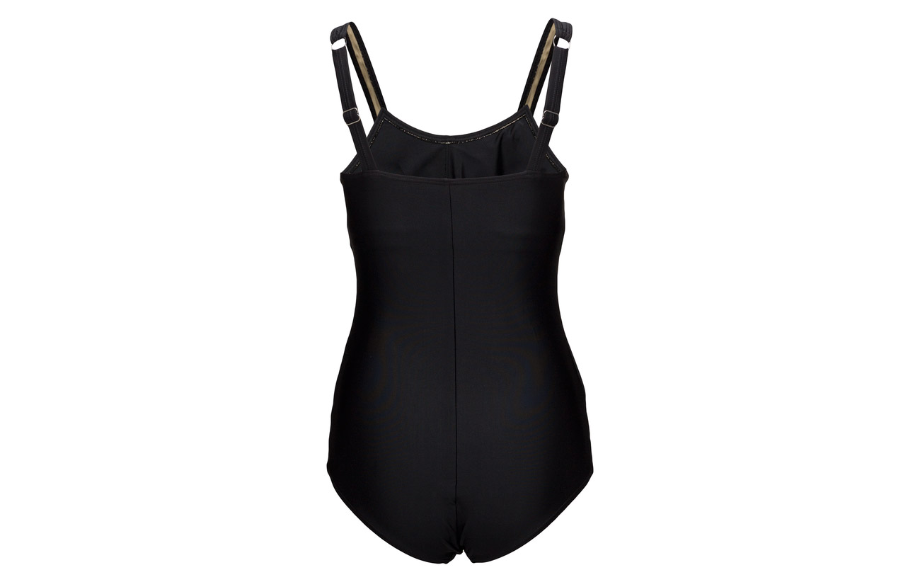 Black 82 Elastane Swimsuit Luciana 18 Polyester Plus Wiki 0ItPqw0