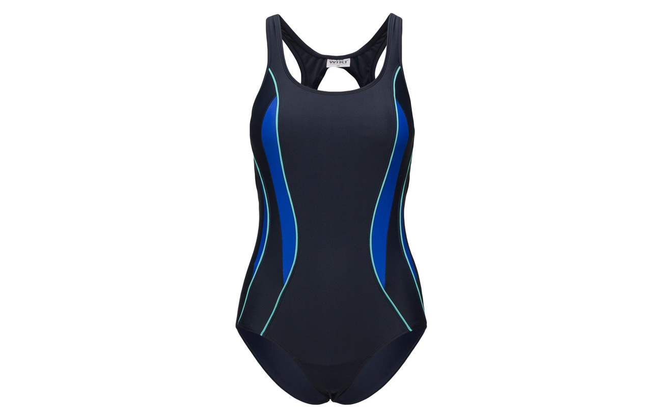 Swimsuit Polyester Navy Wiki aqua 82 Sport 18 Elastane Alba pwqqYxa