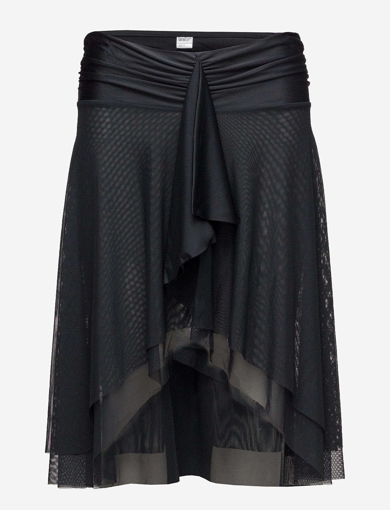Wiki - Swim Beach skirt/dress (2-in-1) - strandtøj - black - 1