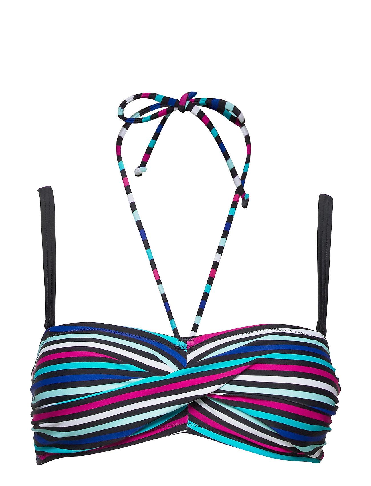 Image of Bandeau Bikini Top Bikinitop Multi/mønstret Wiki (3335351011)