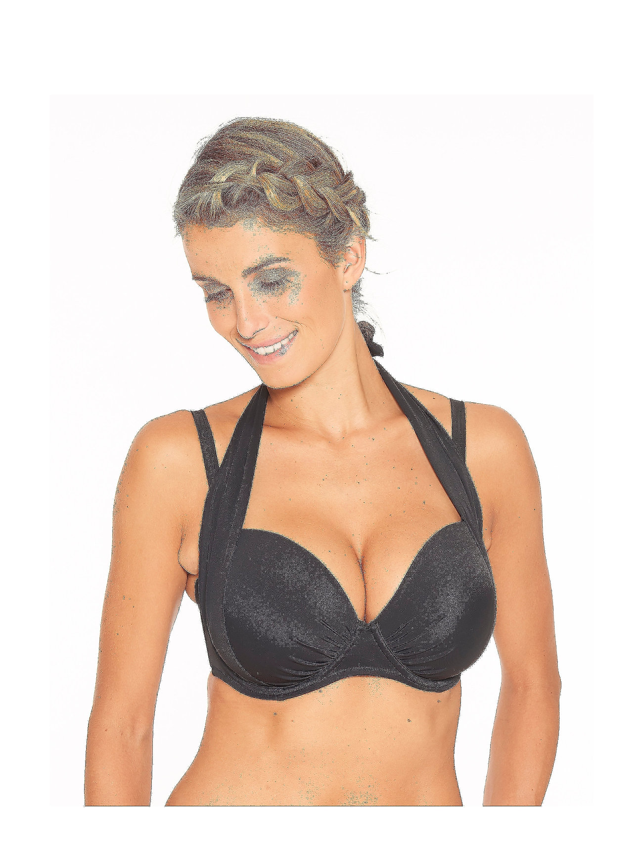 Wiki - Magic bikini top - bikini tops - black - 0