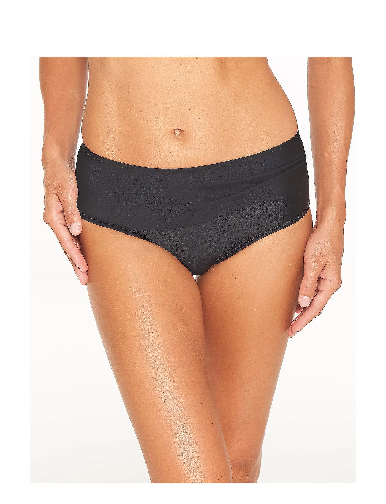 Wiki - Swim Midi Classic - bikinialaosat - black - 0