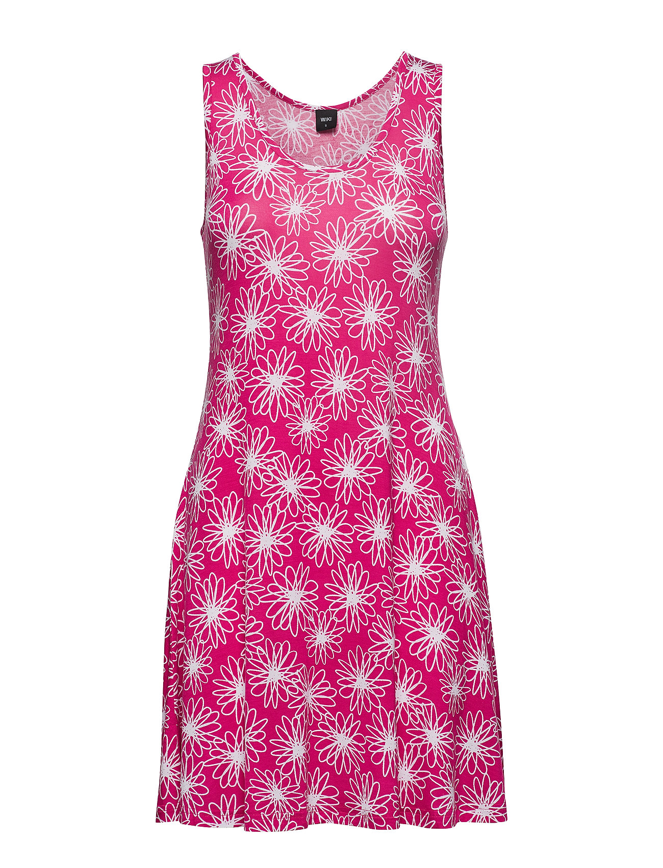 Wiki Bamboo beach dress - FLORAL PINK