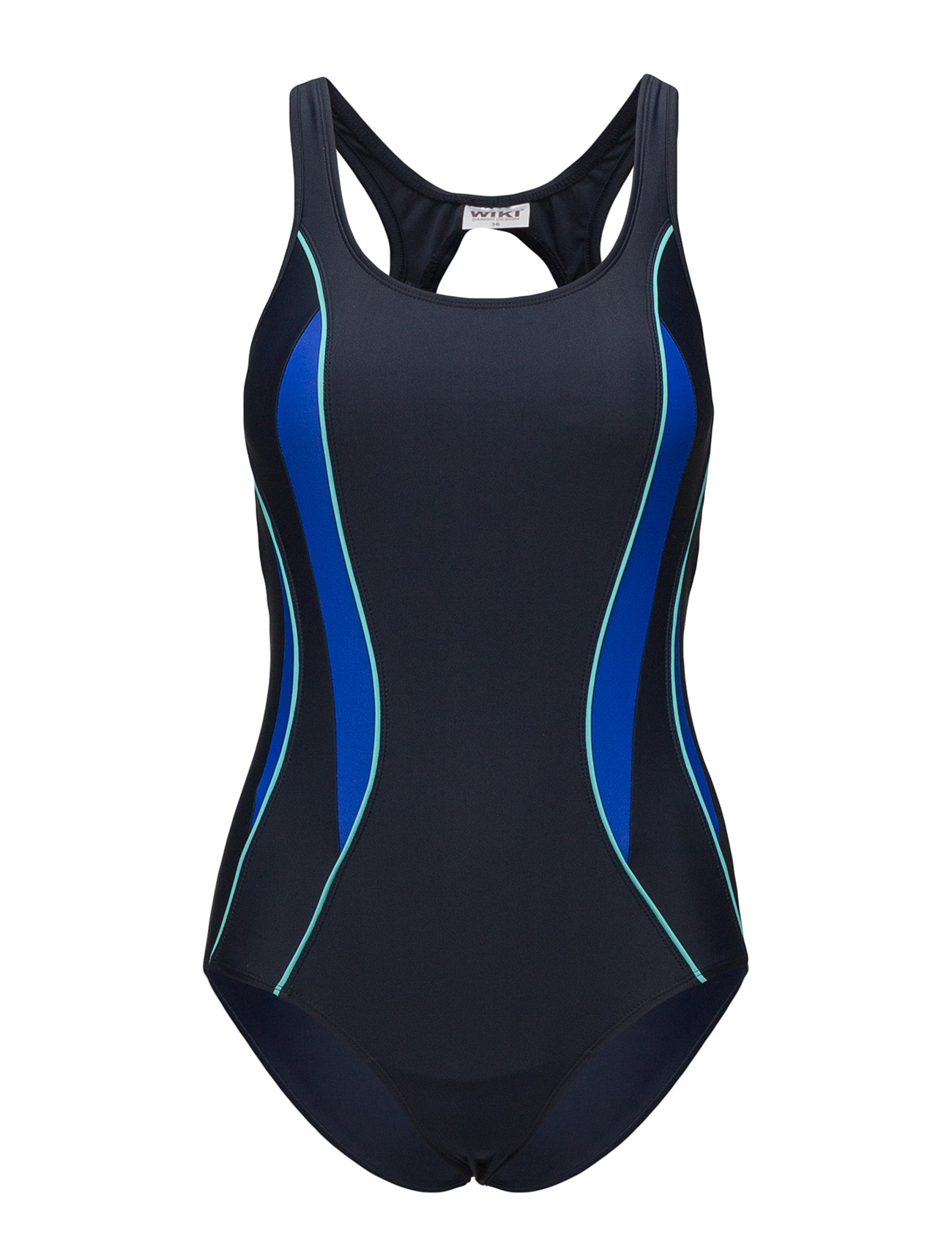 b32ecdcc5f3 Swimsuit Alba Sport Badedragt Badetøj Blå WIKI