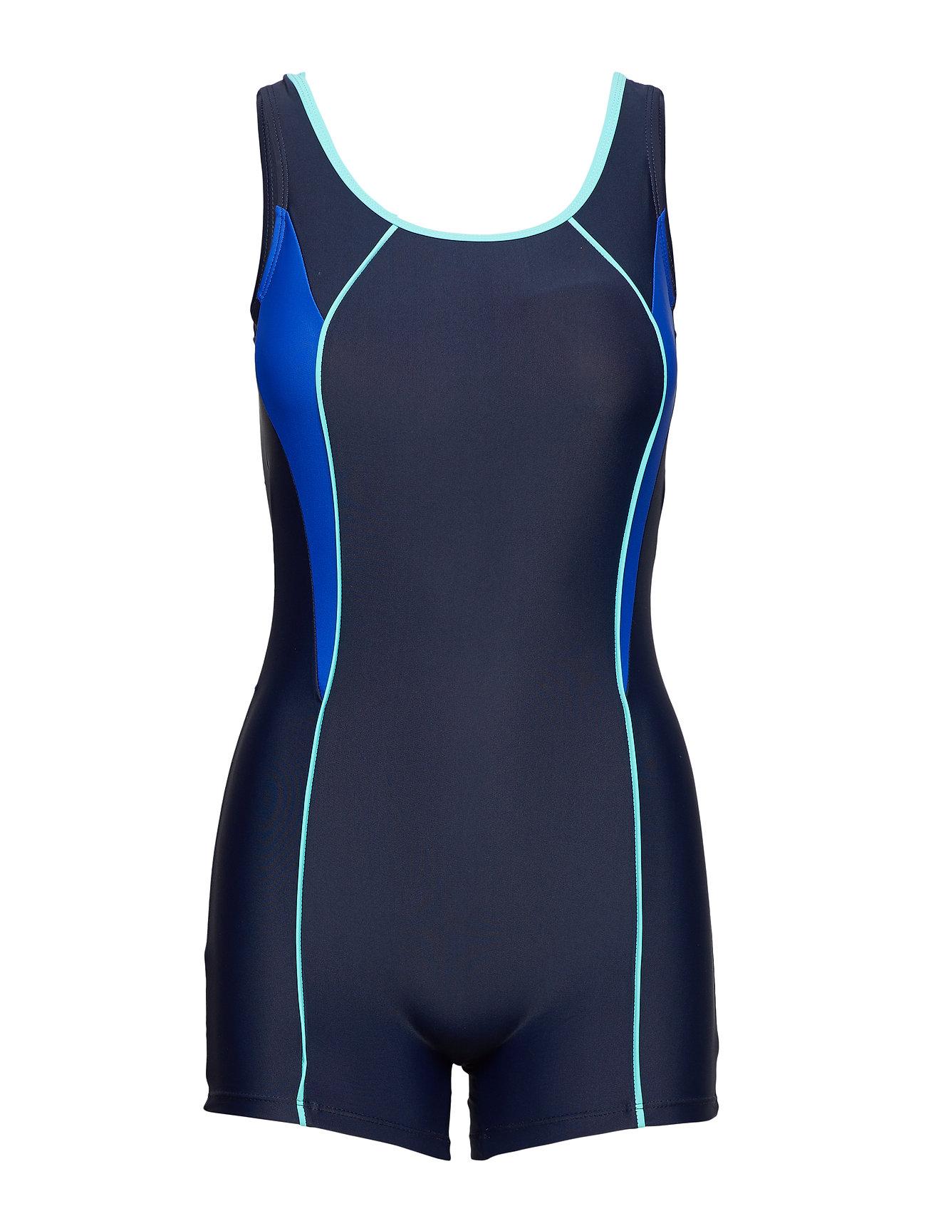 Wiki Swimsuit Regina Sport - NAVY/AQUA