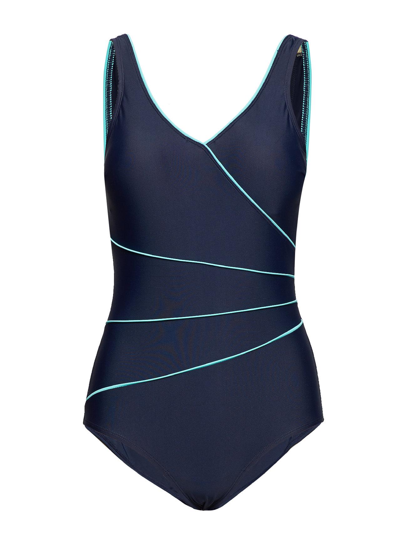 Wiki Swimsuit Daniella Classic - NAVY/AQUA