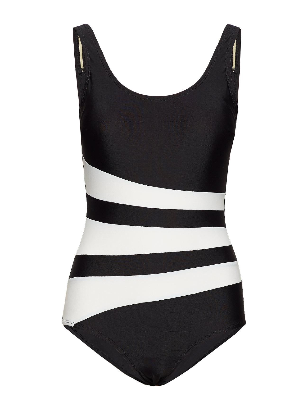 Wiki Swimsuit Bianca Classic - BLACK/WHITE