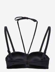 Wiki - Bandeau bikini top - hauts de maillot de bain - black - 1