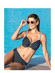 Wiki - Balconette bikini top - hauts de maillot de bain - w572/santa teresa - 2