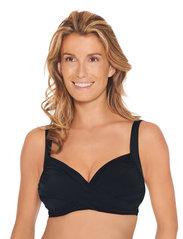 Wiki - Wire-Free bikini top - hauts de maillot de bain - black - 3