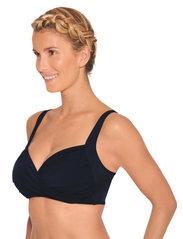 Wiki - Wire-Free bikini top - hauts de maillot de bain - black - 4