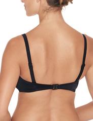Wiki - Bandeau bikini top - hauts de maillot de bain - black - 9