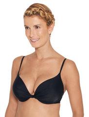 Wiki - Push-Up bikini top - hauts de maillot de bain - black - 4