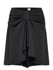 Swim Skirt & Top (2-in-1) - BLACK