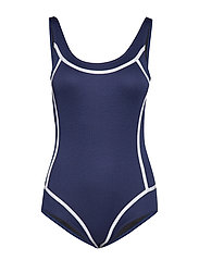 LUX Swimsuit Isabella - NAVY-WHITE