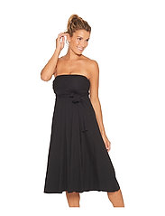 Wiki - Multifunction Bamboo beach dress - beachwear - black - 8