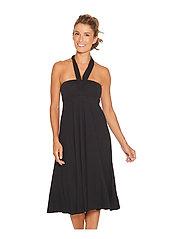 Wiki - Multifunction Bamboo beach dress - beachwear - black - 9