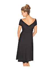 Wiki - Multifunction Bamboo beach dress - beachwear - black - 10
