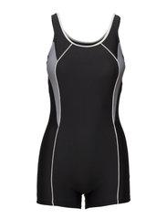 Swimsuit Regina Sport - BLACK/WHITE