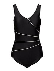 Swimsuit Daniella - Classic - BLACK/WHITE