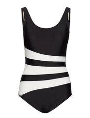 Swimsuit Bianca Classic - BLACK/WHITE