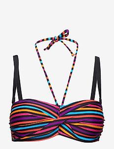 Bandeau bikini top - W585/BAJA SARDINIA