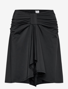 Swim Skirt & Top (2-in-1) - BLACK