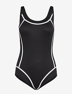 LUX Swimsuit Isabella - BLACK-WHITE