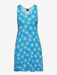 Bamboo beach dress - FLORAL POOL