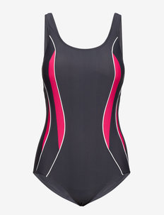 Swimsuit Alba Sport - badeanzüge - steel/fuchsia
