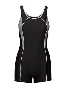 Swimsuit Regina Sport - 1 pièces - black/white