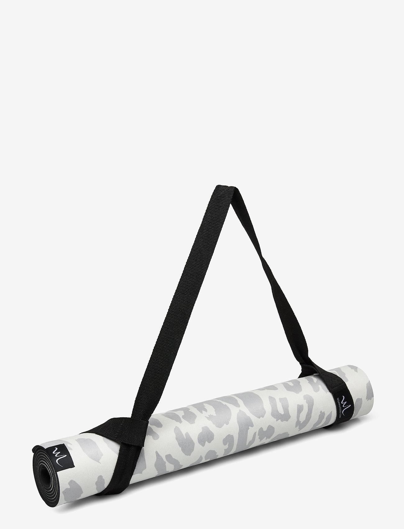WILMA & LOUISE - Yoga mat Leopard - yogamatten & uitrusting - grey - 0