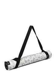 Yoga mat Leopard - GREY