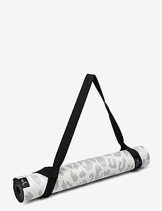 Yoga mat Leopard - yoga mats & equipment - grey