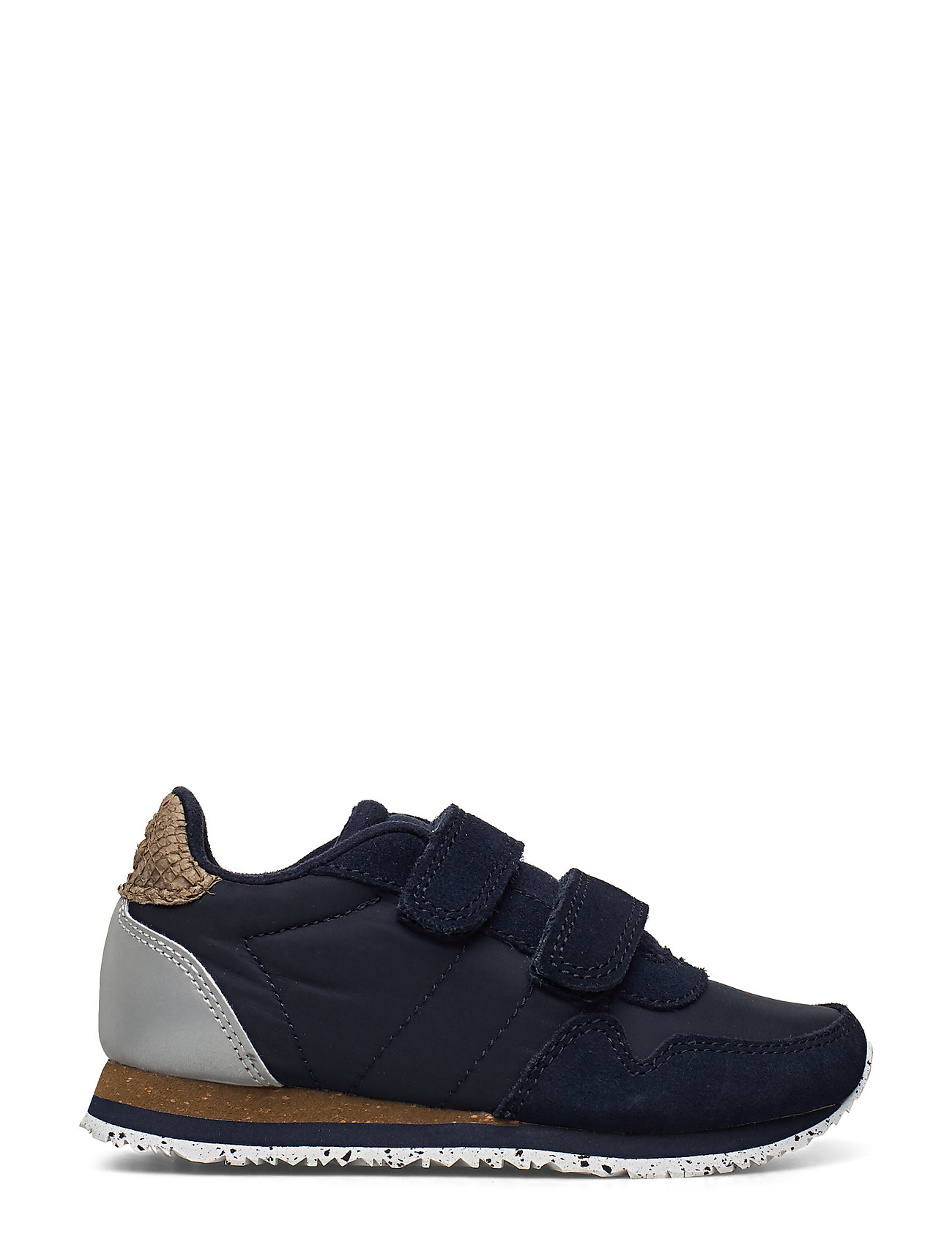 Nor Suede Low-top Sneakers Blå Woden